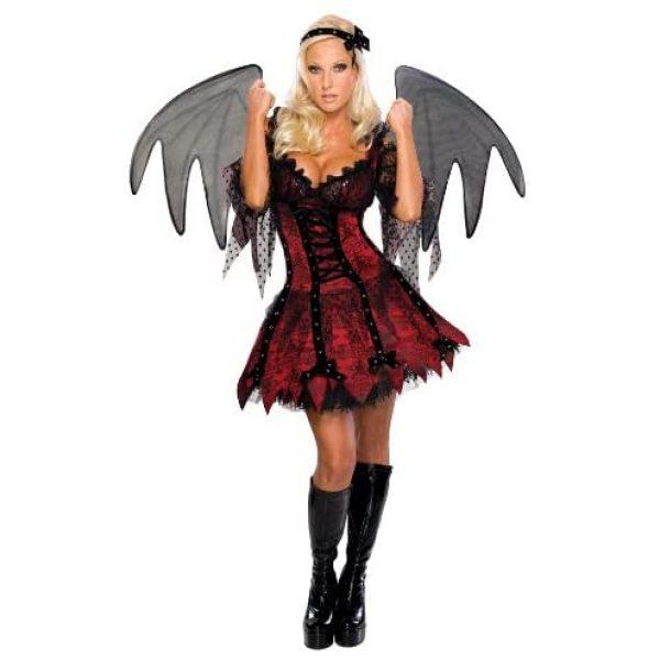 Vampire Fairy Kostüm Damen Medium-0