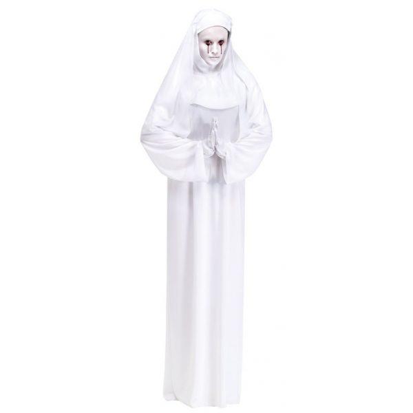 Weisse Nonne Kostüm Erwachsene Einheitsgröße-7442