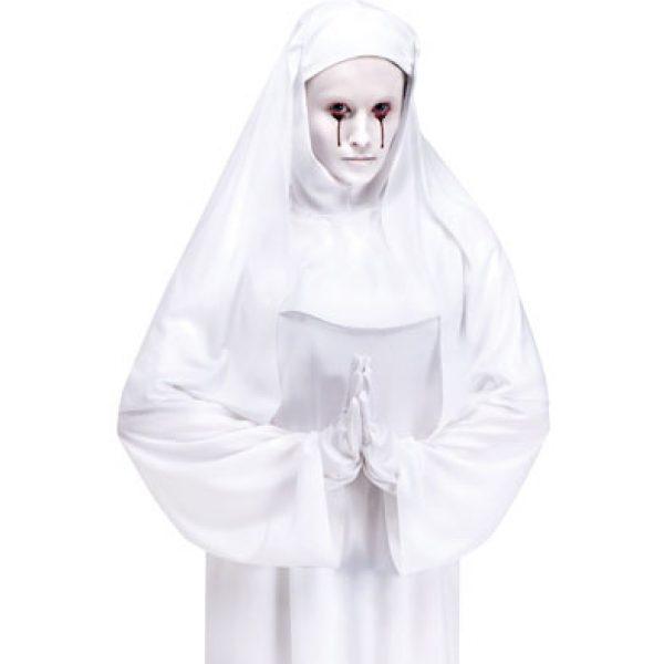 Weisse Nonne Kostüm Erwachsene Einheitsgröße-0