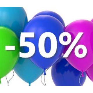 SALE 50 %