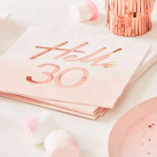 Hello 30 Rose Gold
