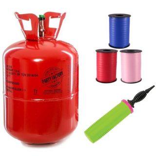 Heliumflaschen & Zubehör