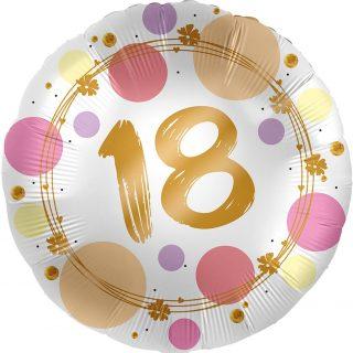 18. Geburtstag Gold