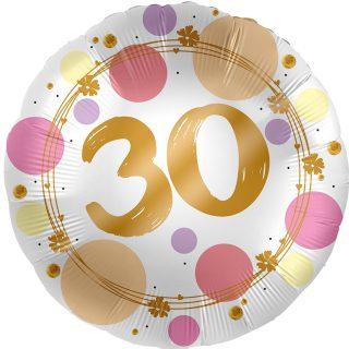 30. Geburtstag Gold