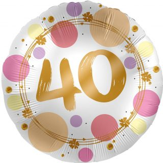 40. Geburtstag Gold