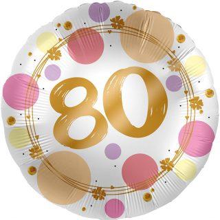 80. Geburtstag Gold